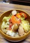 塩麹で甘くなる野菜スープ
