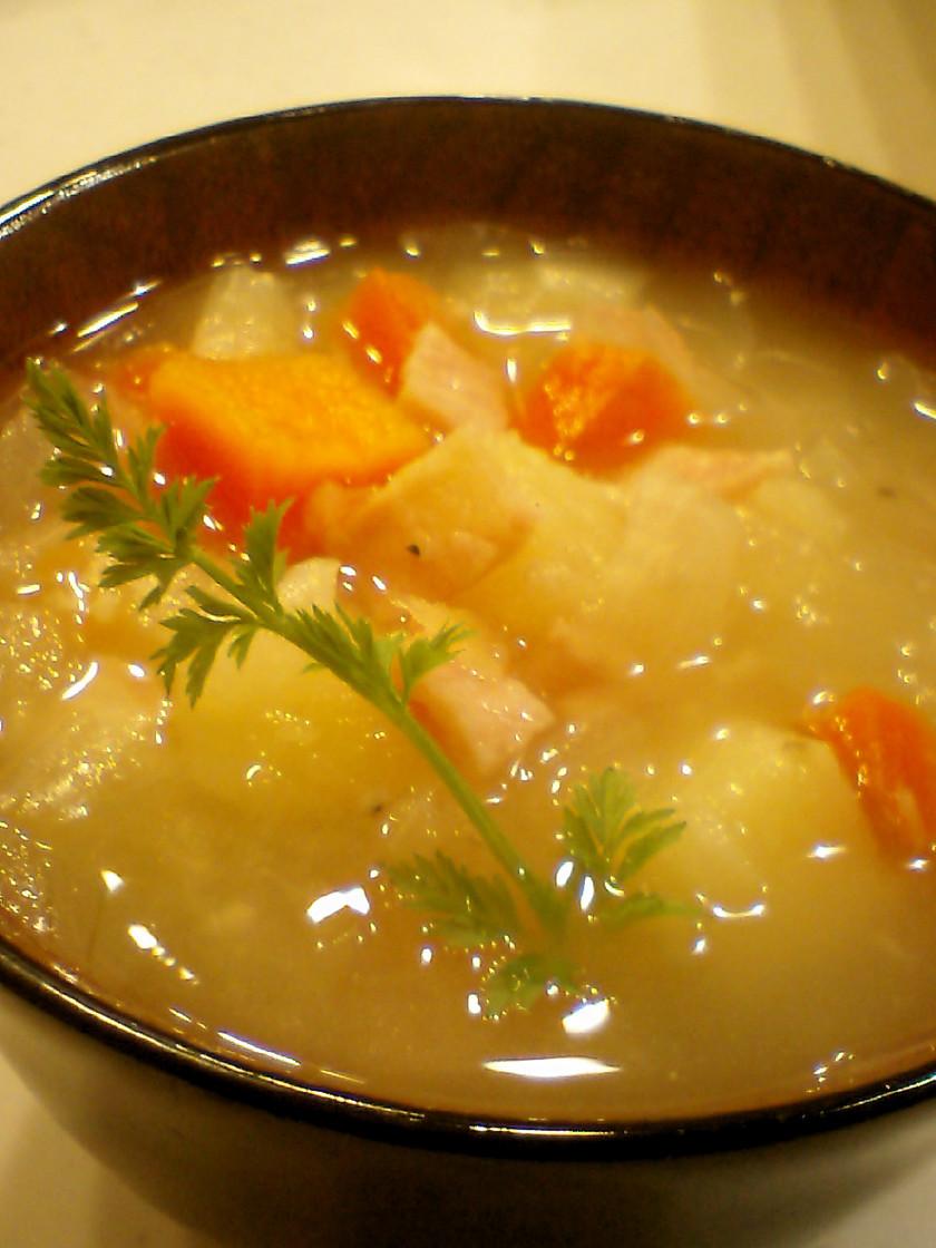 ほっこリ☆塩麹スープ
