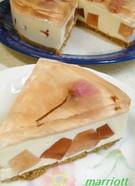 お・と・な・の桜★レアチーズケーキ