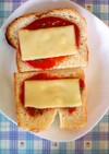 ケチャップ党のチーズトースト