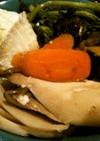 塩麹で蒸し魚と野菜