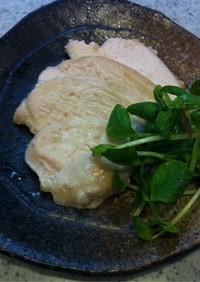 塩麹サラダチキン☆IHや炊飯器で簡単!