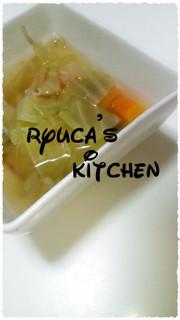 野菜で満足☆コンソメスープの写真