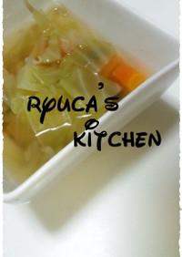 野菜で満足☆コンソメスープ