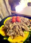 タジン鍋で野菜たっぷりジンギスカン