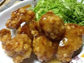 【檸檬鶏】甘酸っぱいレモンソース