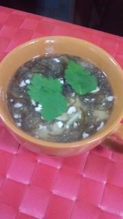 もずくと崩し豆腐の癒やし系スープ♪の写真