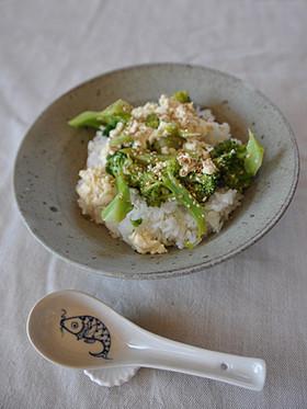 ブロッコリー豆腐丼