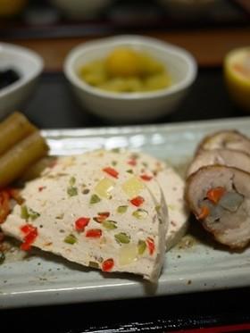 白身魚とツナ缶のテリーヌ