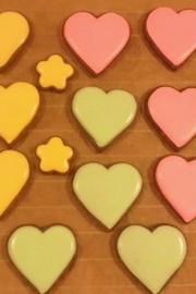 ③本気☆アイシングクッキーの下地塗りの写真