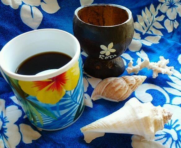 ココナッツオイルで南国風✿フレーバー珈琲