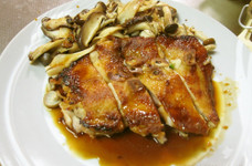 鶏モモ肉のガーリック風照り焼き