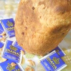 HBで紅茶とオレンジピールの食パン