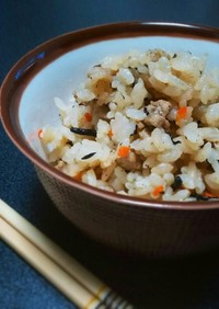 ■ジューシー■沖縄の炊き込みご飯。