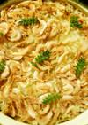 土鍋で簡単、桜えびの炊き込みごはん。