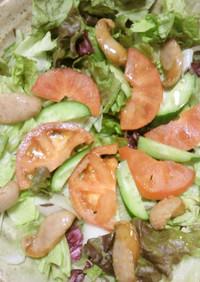 「パッケージサラダ」でソーセージサラダ