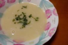 ヘルシー!新じゃが芋と新たまねぎのスープ
