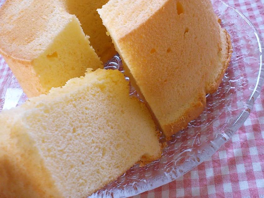 アーモンドのシフォンケーキ♡