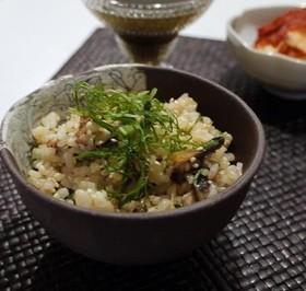 ダイエットうなぎ・生姜混ぜご飯