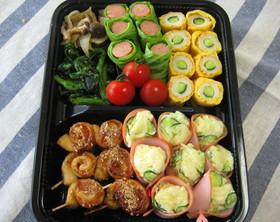 お花見やピクニックに☆コロコロお弁当