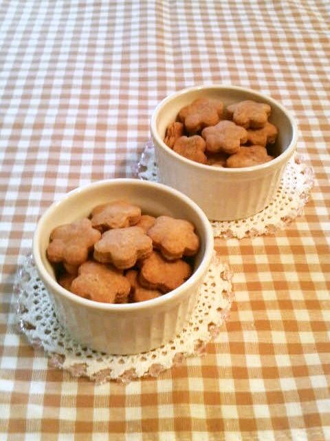 ザクザク♪素朴なきな粉クッキー