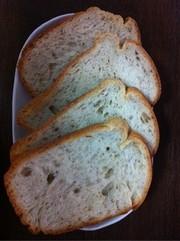 HBで簡単!天然酵母のハーブチーズパンの写真