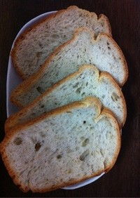 HBで簡単!天然酵母のハーブチーズパン