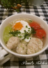 ☆とろ~り卵の塩麹で作る鶏だんごスープ☆