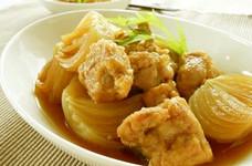 チキンとトロトロ玉ねぎの甘辛煮