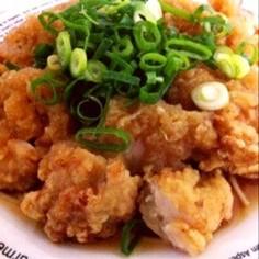 あの味!カリカリ☆おろしチキン竜田