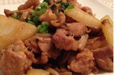 鶏肉とポテトのコンソメ炒め