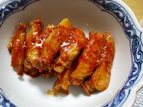 お鍋ひとつ!プルプル食感☆手羽のピリ辛煮