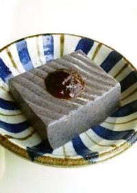 ■ゼラチンで簡単♪本格ごま豆腐■味噌ダレ