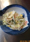 余り野菜サラダ