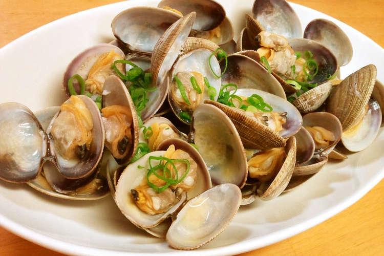 の 蒸し アサリ 酒 蒸しあさりレシピ・作り方の人気順 簡単料理の楽天レシピ