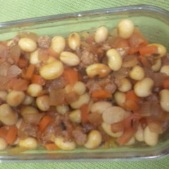 大豆のケチャップ味