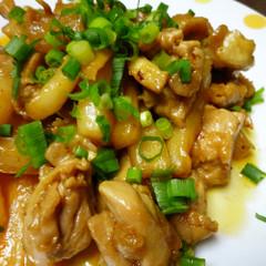 大根と鶏肉の豆板醤炒め