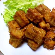 高野豆腐のごま揚げ♪