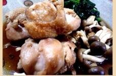 鶏肉とキノコのさっぱり煮