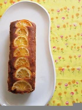はちみつレモンのしっとりパウンドケーキ