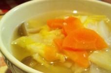 やさしい旨味☆塩麹スープ
