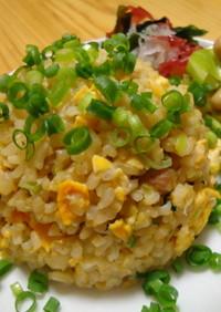 『自家製パンチェッタの玄米炒飯』