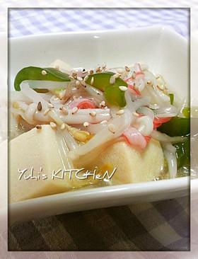高野豆腐の塩生姜あん★野菜たっぷり