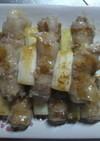お弁当にも☆薄切り肉で簡単豚串♪