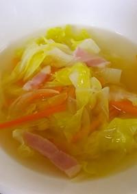 朝食に♪我が家の基本スープ