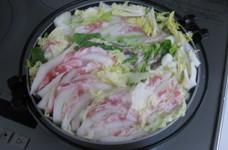 ☆白菜と豚バラ肉の重ね鍋☆あっさり醤油