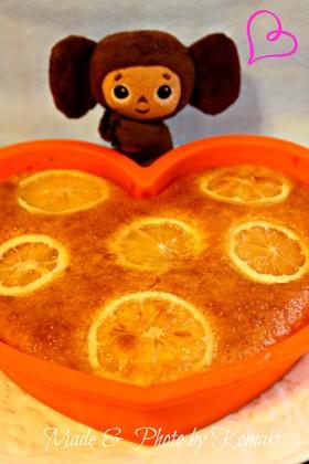 HMで簡単☆はちみつレモンケーキ