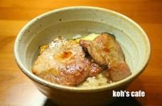 減塩・低たんぱく 【豚丼】