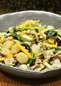 甘辛おいしぃ♪野菜とこんにゃくの炒め煮