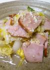 塩麹とゴマでやさしい味の炒め物